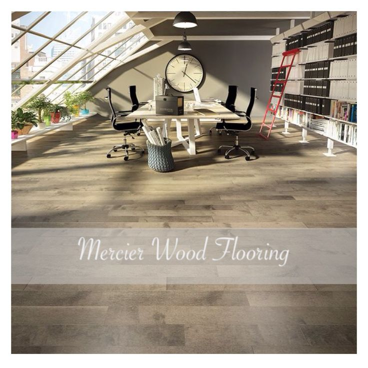 Mercier Wood Flooring, Design+ Program, Hard Maple, color Stone.