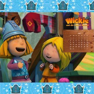 """Juli: Dein """"Wickie und die starken Männer"""" Hintergrundbild zum kostenlosen Download für dein Tablet, Smartphone oder PC! Viele weitere Wallpaper findest Du auch hier: http://www.studio100.de/fur-den-computer/"""