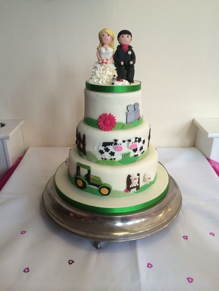 dairy farming wedding cake x cakes pinterest