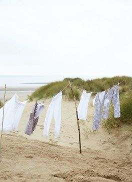Dry your washing at the beach, can you imagine how fresh and clean it would smell.| Eliminate or Prevent Washer Odor Permanently with Washer Fan™ Breeze™ | WasherFan.com | Installs in Seconds... No Tools Required! :)  #WasherOdor  #SWS  #Laundry