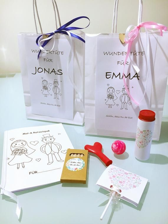 Miracle Bag-Guest gift for small guest wedding