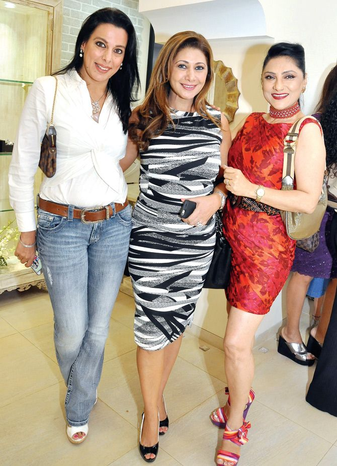 (L-R) Pooja Bedi, Rukhsana Eisa and Arti Sundernath at a luxury store launch in Mumbai. #Bollywood #Fashion #Style #Beauty #Hot #Page3