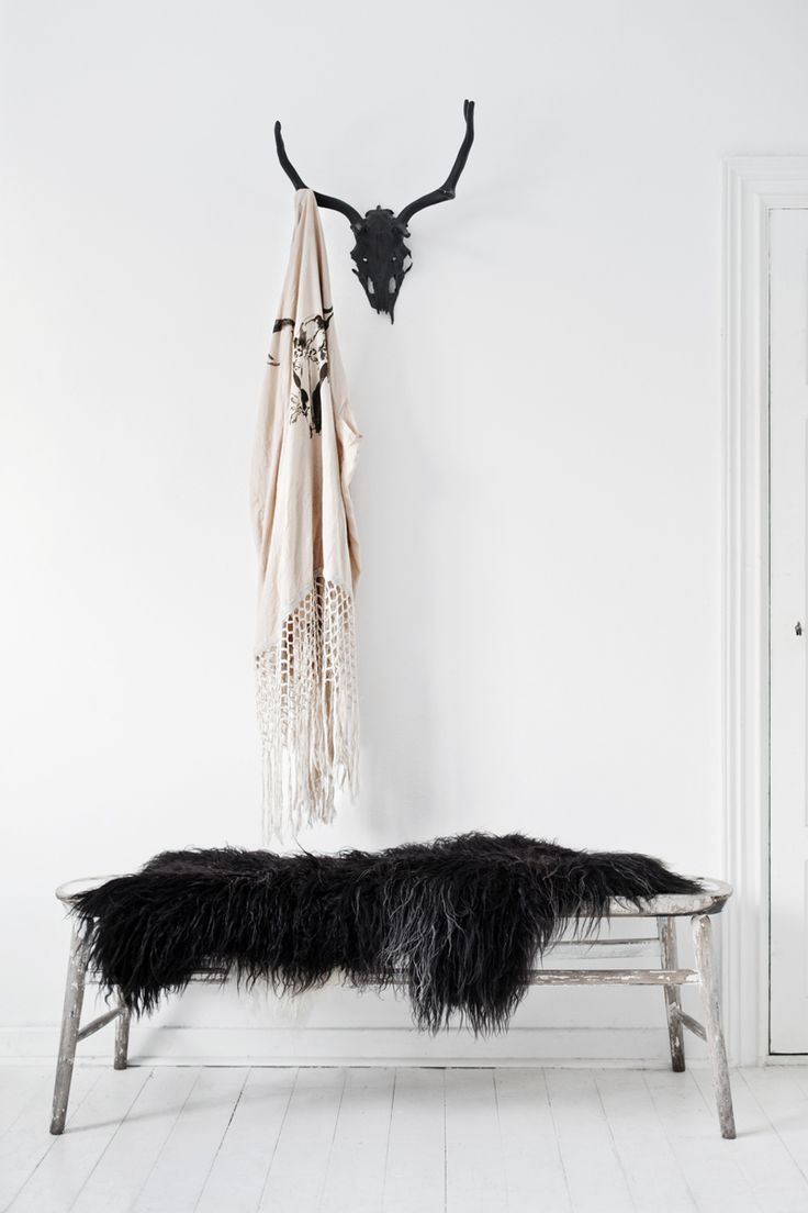 wherever we hang our kimonos.. that's our home ♡ / the warriors | stag amulet fringe kimono : spell | more of this home in the latest blogpost {http://lovewarriors.se/a-warrior-weekend} | © hannah lemholt