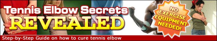 Tennis Elbow Treatment Video Reveals 5 Steps to Cure Your Injury At Home
