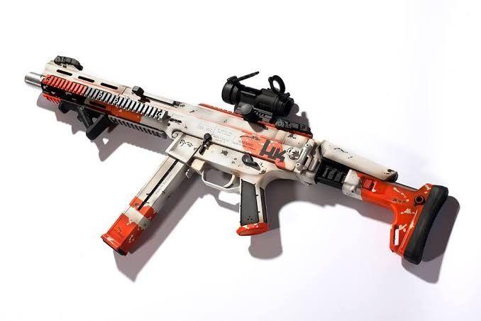 Dan Haga Designs H K Usc Ump With Acr Stock Top Rail And Extended Railed Handguard Guns Acr Haga