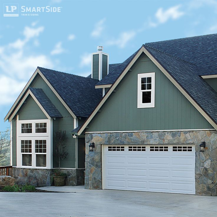 14 best images about lp smartside panel siding on for Fiber cement composite roofing slate style