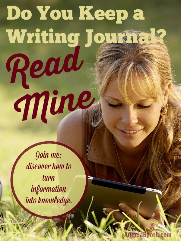 """Do You Keep a Writing Journal? Read Mine - I share lots of """"how to"""" information. Let's see how to apply it -- http://www.fabfreelancewriting.com/blog/2014/08/12/keep-writing-journal-read-mine/"""