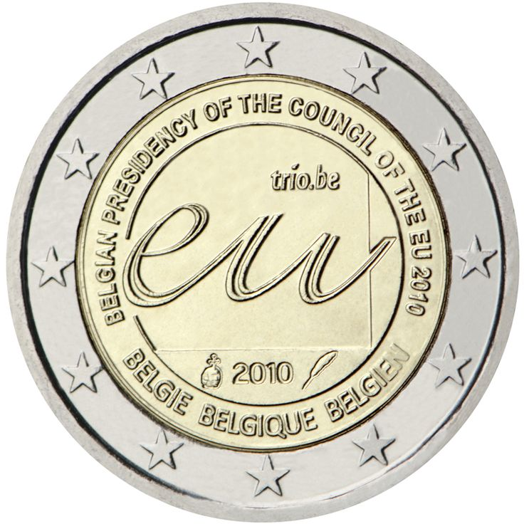 Bélgica 2 euros conmemorativos (Especial) 2010