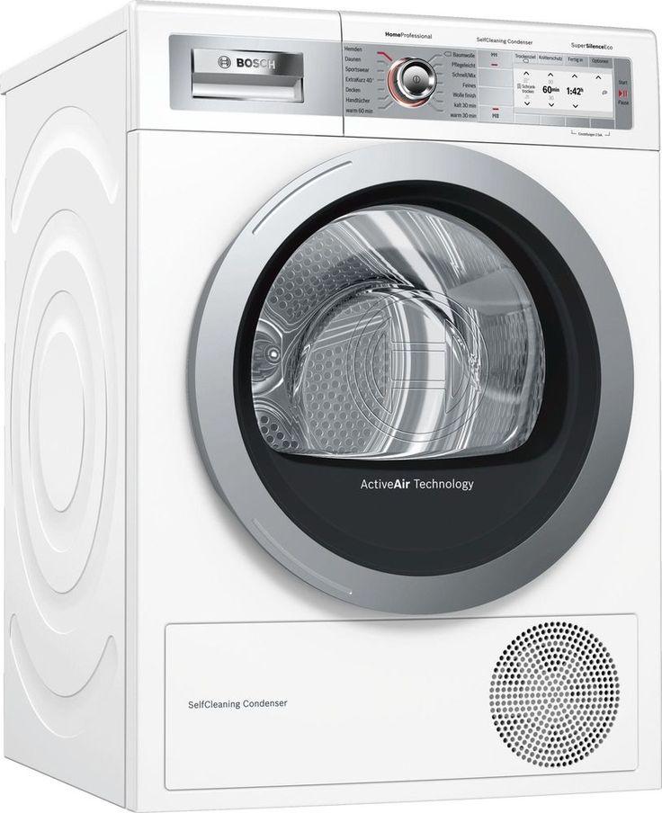 Bosch WTY887W6 9kg A Kondensationstrockner Antivibration Dryariete ...