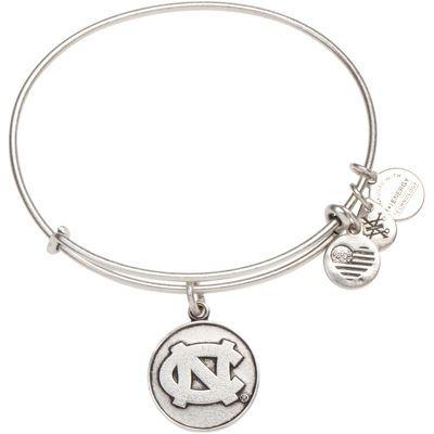 North Carolina Tar Heels Alex & Ani Women's Bracelet - Silver