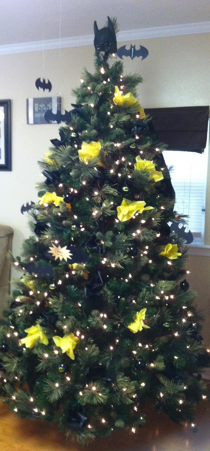 Batman christmas tree ornaments - Batman Father S Day Tree