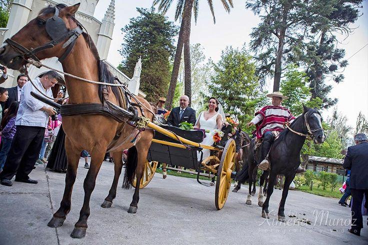 Carreta con Caballos Matrimonio / Wedding Horse Ride Ideas Matrimonio / Wedding ideas