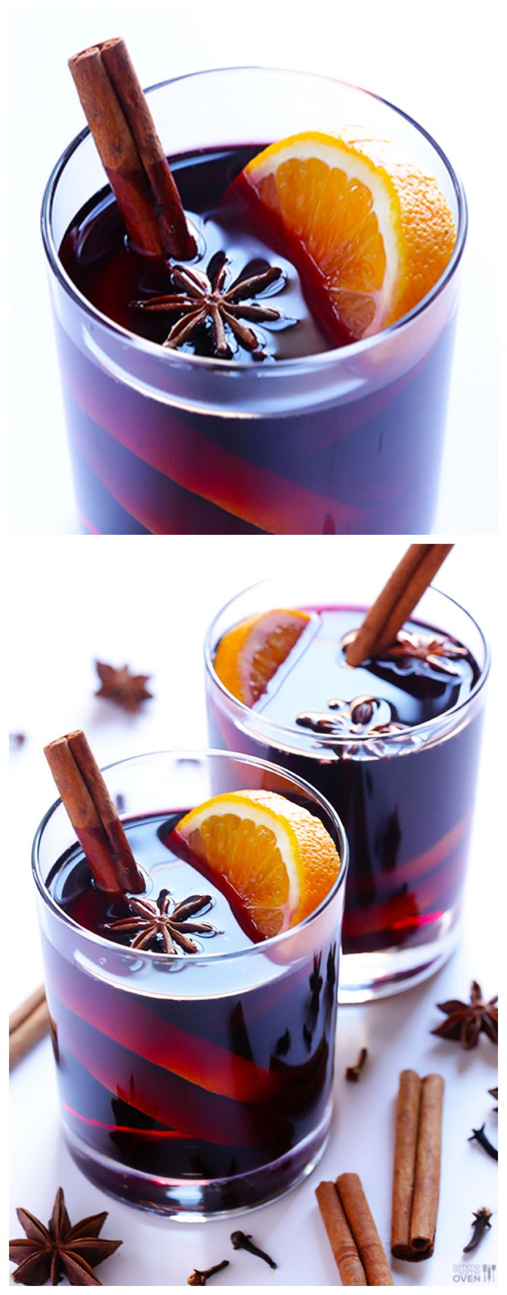 Mulled Wine -- simple, warm and so comforting | gimmesomeoven.com #winter #drink