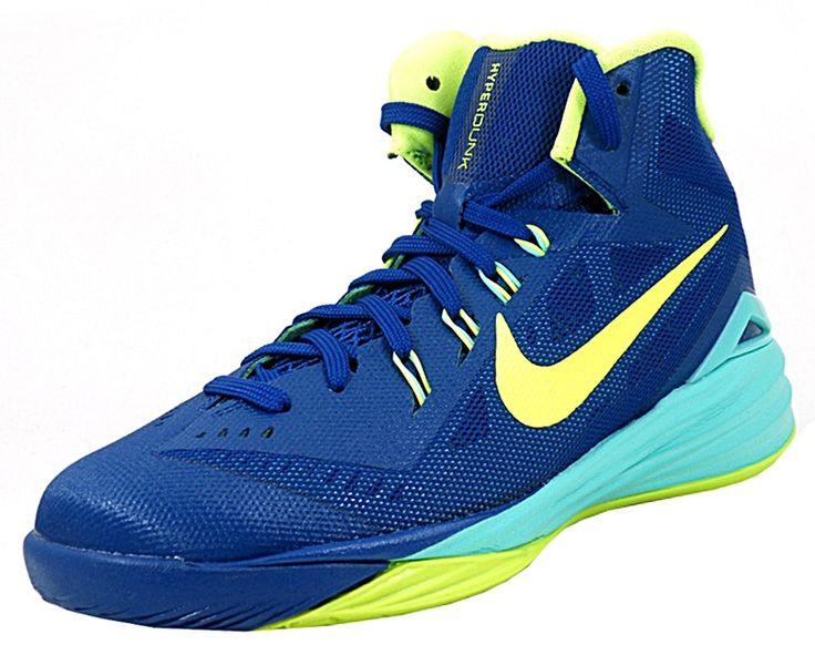 Zapatilla Nike Hyperdunk 2014 GS Sprite Volt de Baloncesto para chic@s,  tallas menores