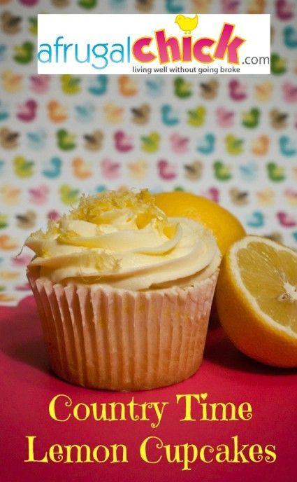 Country Time Lemonade Cupcakes