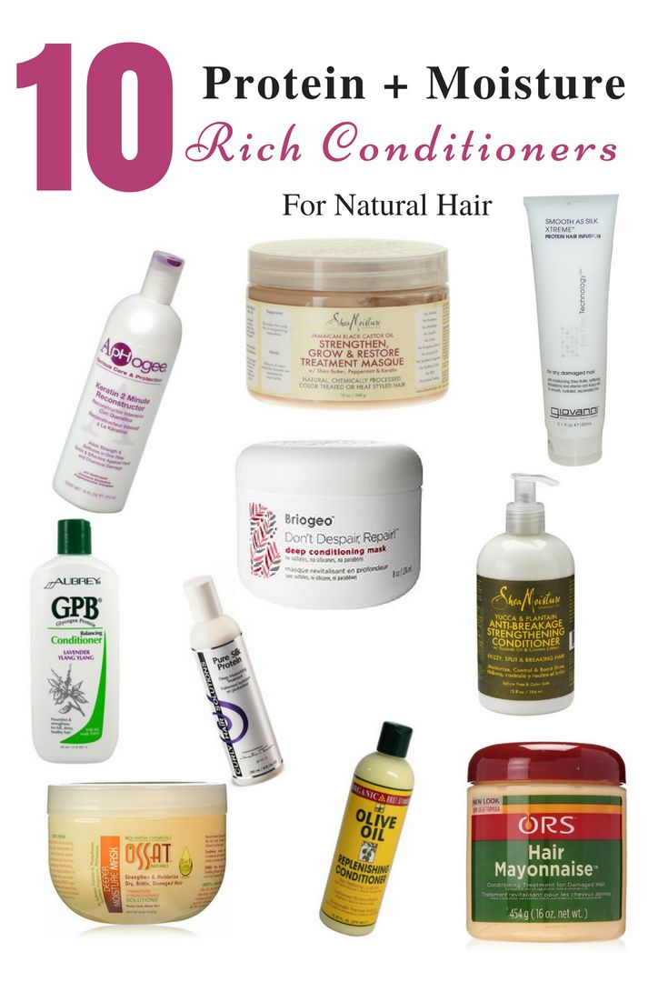10 Protein and Moisture Rich Conditioners for Natural Hair - Natural Hair care - NapturalNigerians