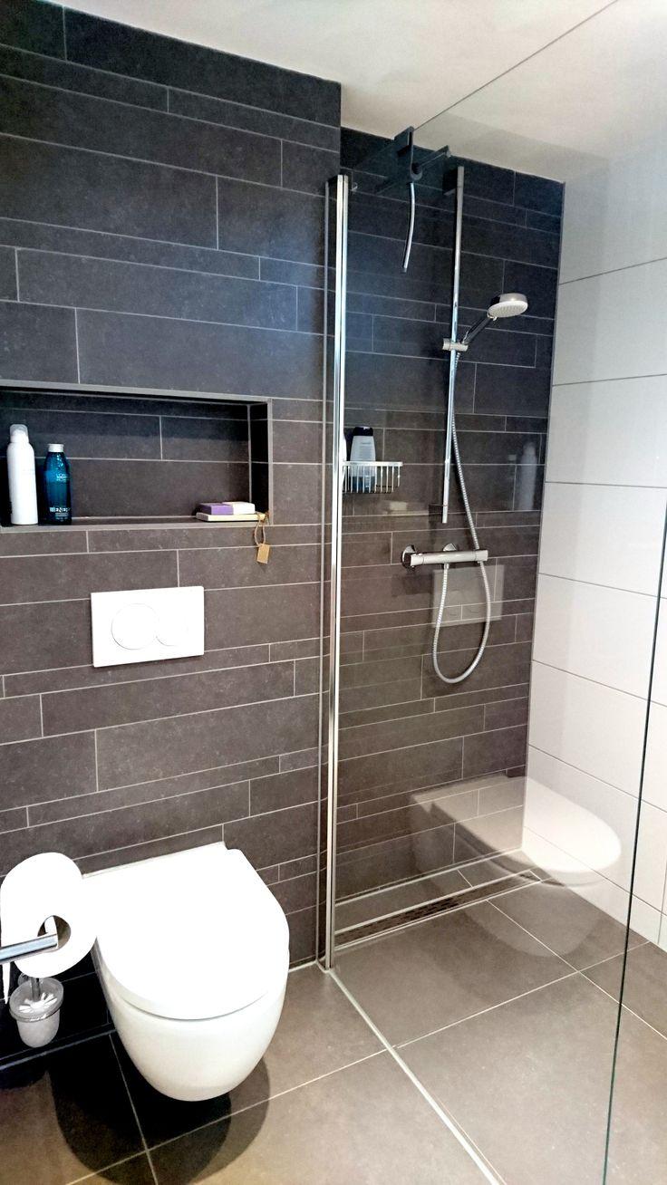 Meer dan 1000 douche idee n op pinterest decoratie nautisch en chevron - Decoratie douche badkamer ...