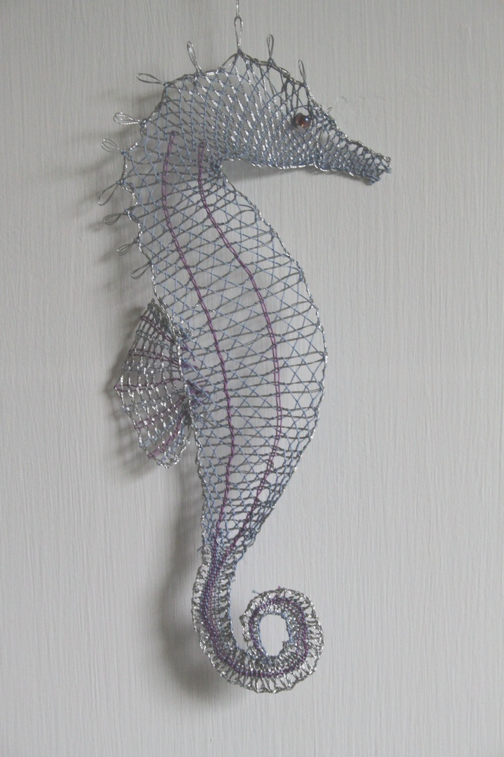368 best bobbin lace images on pinterest lace butterflies and seahorse made by my mum on a course in kintyre with anna halikova bankloansurffo Image collections