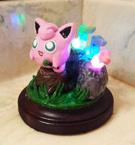 Light-Up Jigglypuff Sculpture (Made to Order)