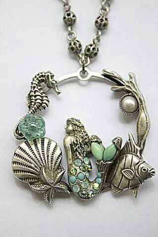 Great Mermaid necklace. Love this!