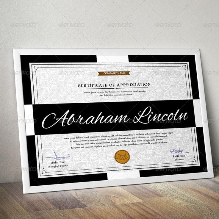 Simple Certificate of Appreciation Template