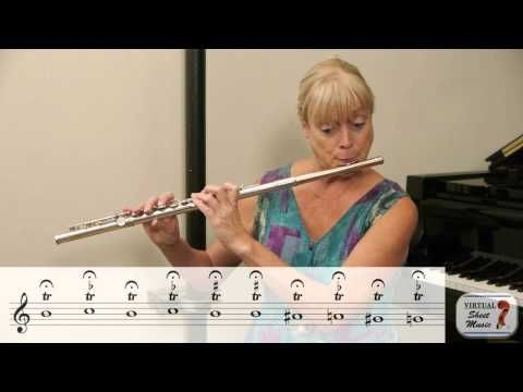 Great Flute Exercise for Trills - Video by The Flute Show on Virtual Sheet Music