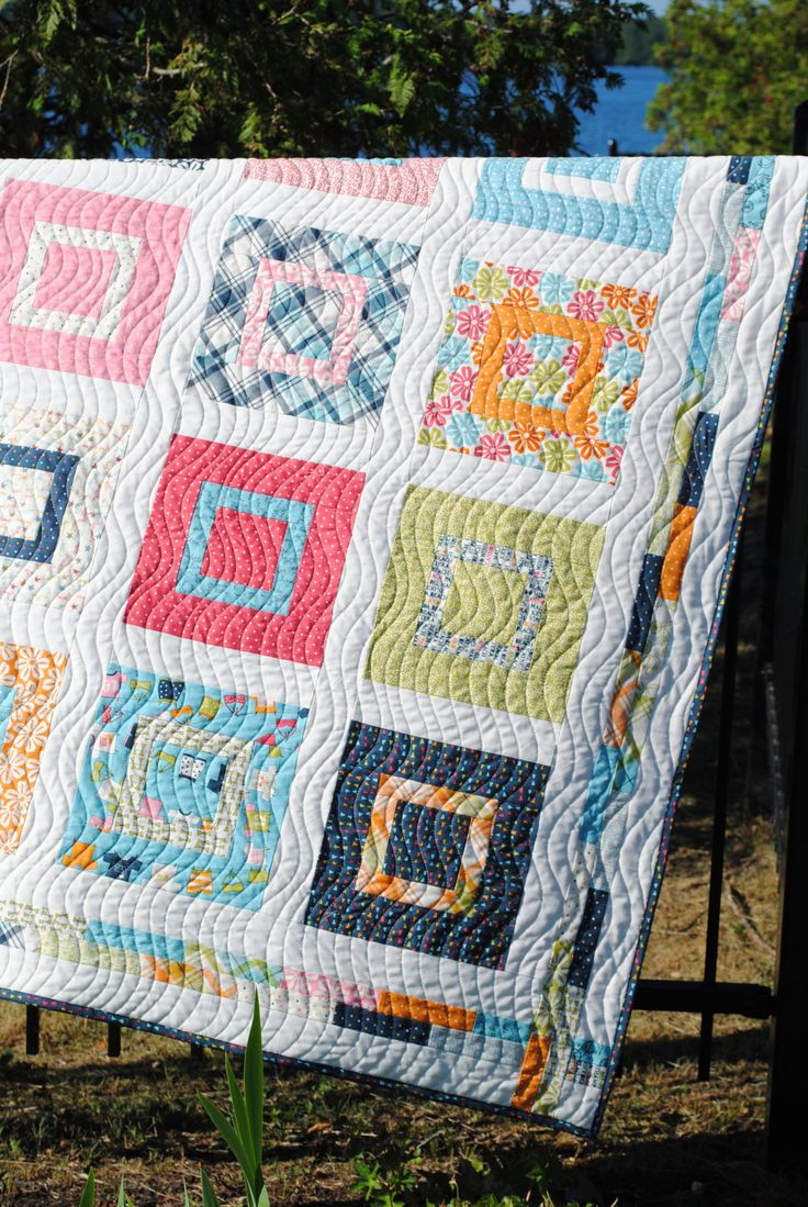 Quilt Pattern For 9 Fat Quarters : Baby or Lap Quilt Pattern, ...Layer Cake or Fat Quarters, Sweet Jane ?
