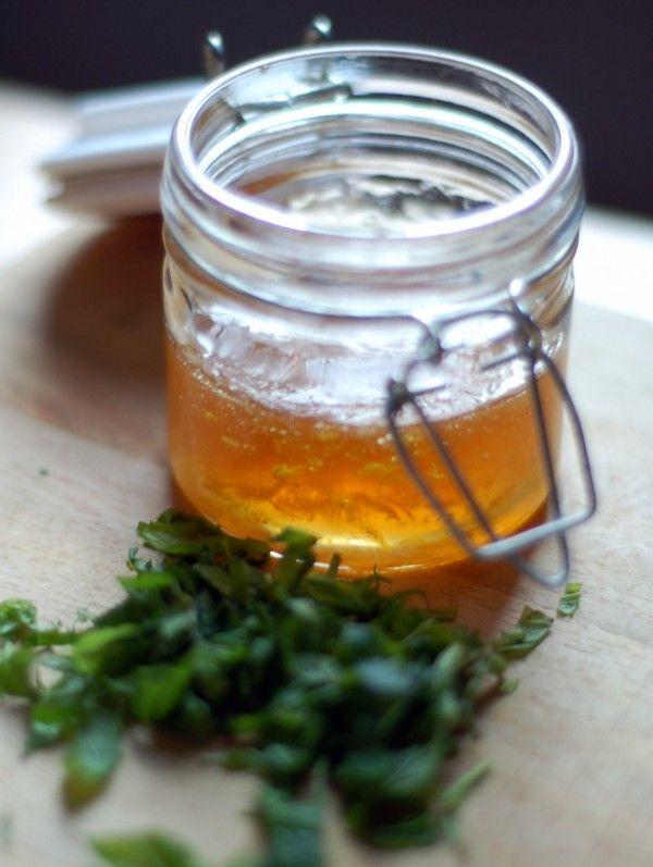 marmelade de citron à la menthe