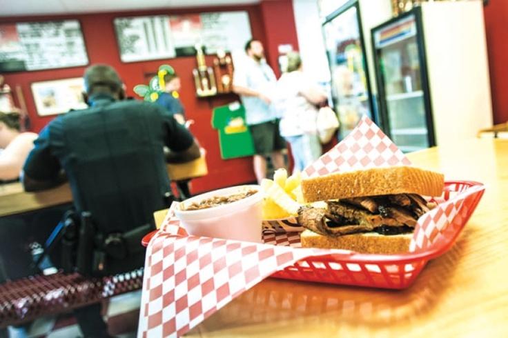 Restaurant review Blackwater BarBQ Blackwater's ribs