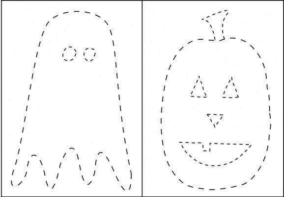 Ghosts + Pumpkins