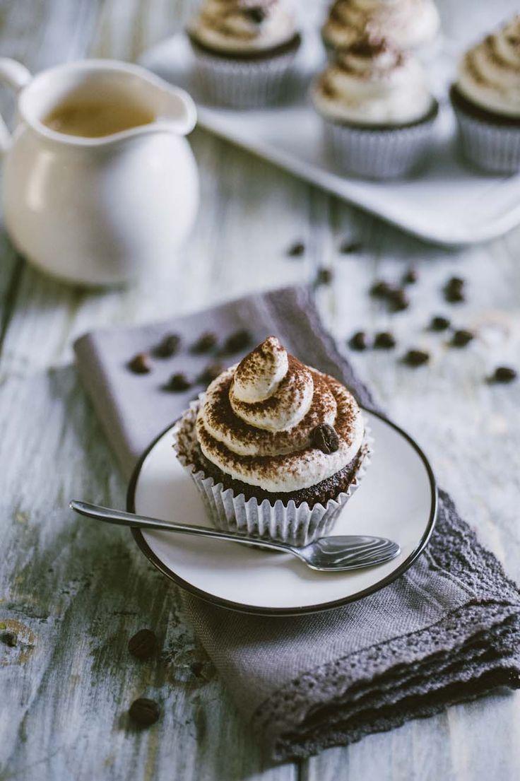 Cupcake al cappuccino: I #cupcake al #cappuccino sono una #merenda prelibata, una #colazione energetica, un #dolcetto che farà innamorare tutti già per come si presenta!