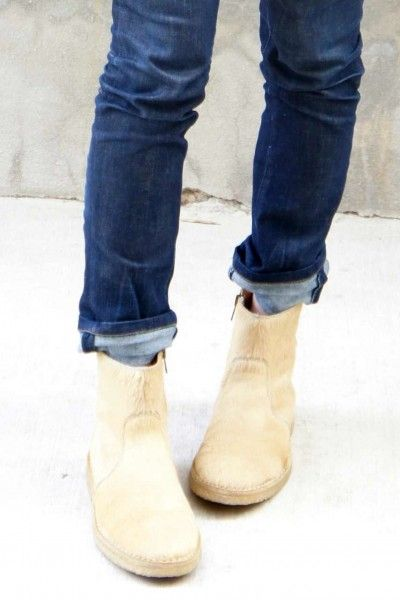 style it. scrunched skinnies with ankle boots