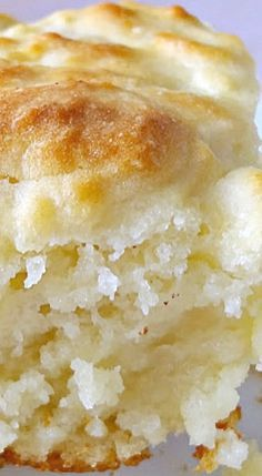 Butter Biscuits - these are so big and fluffy, and taste so buttery, you really…