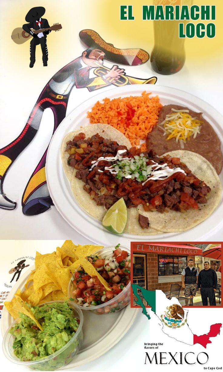 El Mariachi Loco Mexican #Restaurant On Main St. #Hyannis. El Mariachi Loco