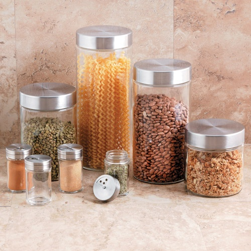 10 Best Kitchen Canisters Images On Pinterest  Kitchen Containers Captivating Glass Kitchen Containers Inspiration