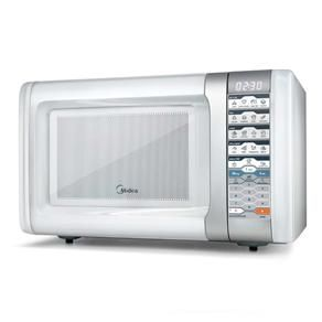 [Extra] Microondas Midea Liva Branco - 30 Litros R$360,90