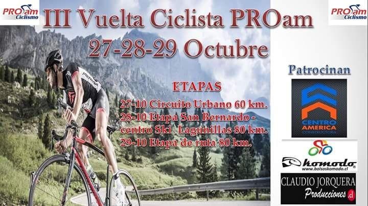 3era. Edición de la Vuelta Internacional Pro AM