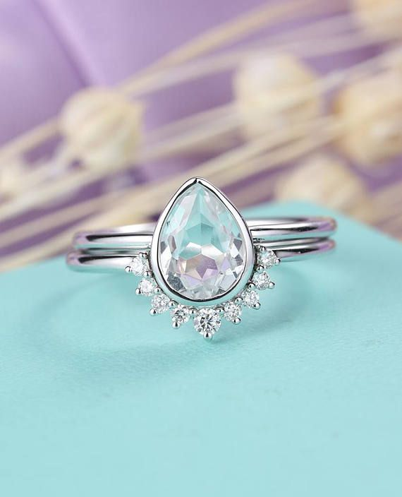 Topaz Wedding Ideas - Shop These Stunning Engagement Rings - KnotsVilla