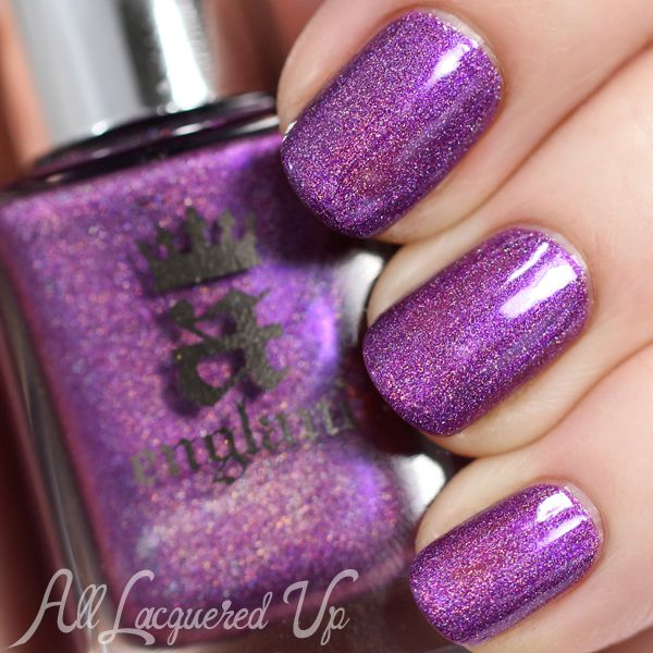 a-england Elizabeth and Mary Swatches and Review - Crown of Thistles