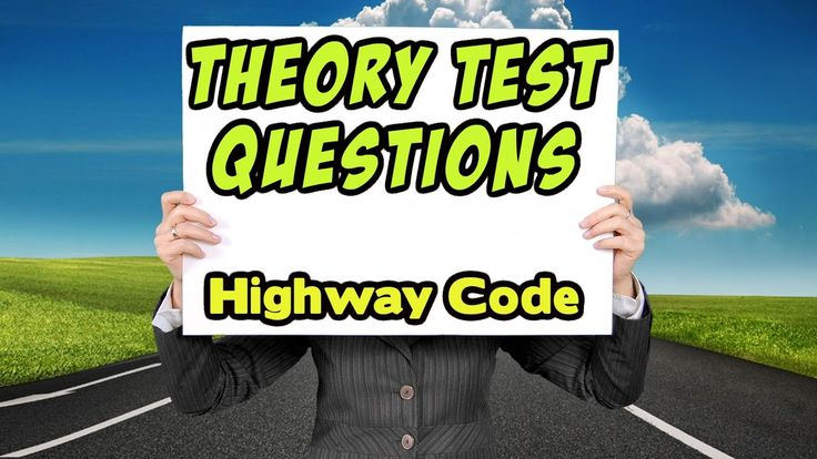 Theory Test: Learn how to pass your driving test #uktheorytest #theorytest This video give you insight into what questions you can expect to get in your UK theory test exam #drivingtest (No 7) This video is part of a series that aim to help you learn your highway code and pass your theory test. A video for driving theory revision and road signs test. Questions from the theory test UK 2017 #roadsigns We also have a Facebook page that helps learner drivers pass their theory test first time: