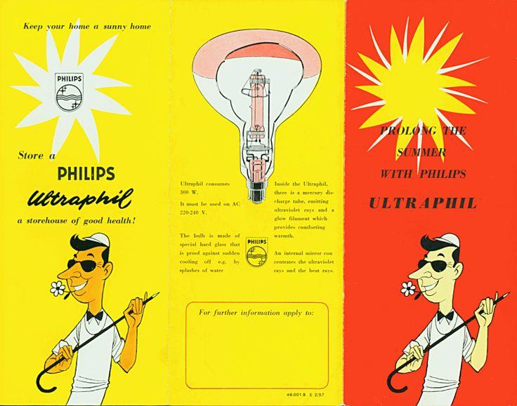 Ultrafil folder ca. 1957  sc 1 st  Pinterest & 97 best PHILIPS LIGHTING images on Pinterest | Advertising ... azcodes.com