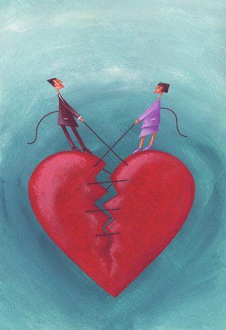 Coeur brisé...à réparer