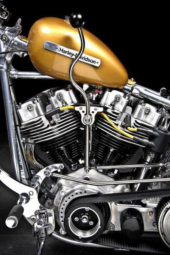 shovelhead custom engine detail