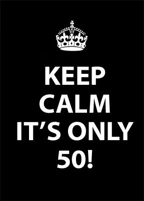 A tribute to all my friends turning 50! by: Marilou Makes