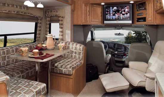 class c motorhomes interiors | Coachmen Concord class C motorhome interior - 275DS model
