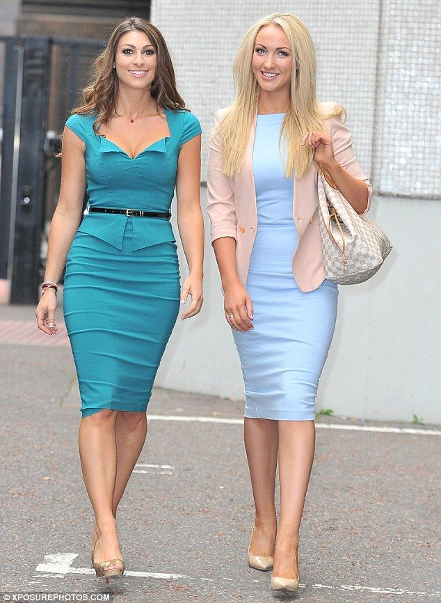 Dressed to impress: Apprentice finalists Luisa Zissman and Leah Totton proved there is certainly a sexy side to power dressing as they stepp...