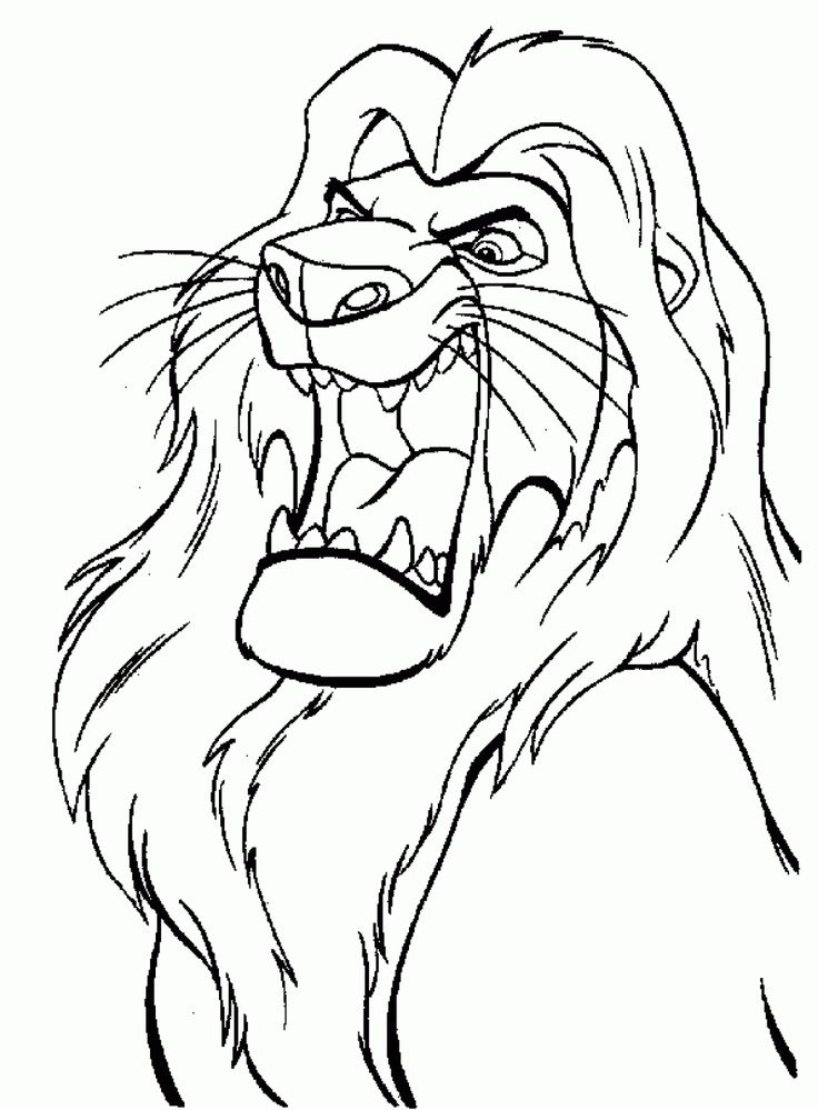 7 best Le Roi Lion images on Pinterest Drawings Disney coloring