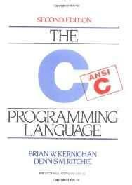 C Programming Language: ANSI C Version (Prentice-Hall Software Series) Hardcover ? Import 22 Mar 1988