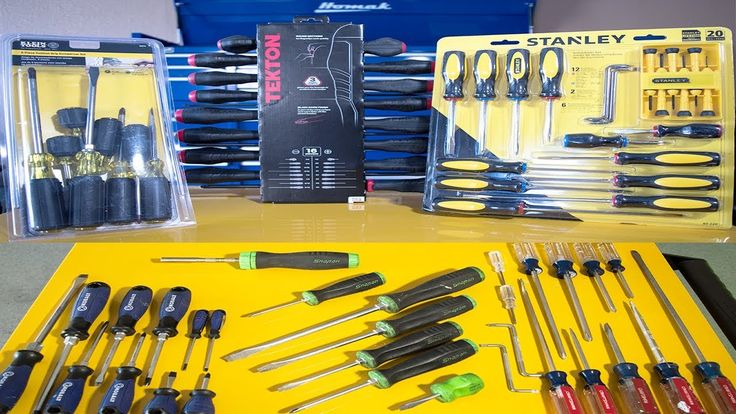 Best Screwdriver Set For The MONEY? Tekton | Kobalt | Snap On | Klein | ...