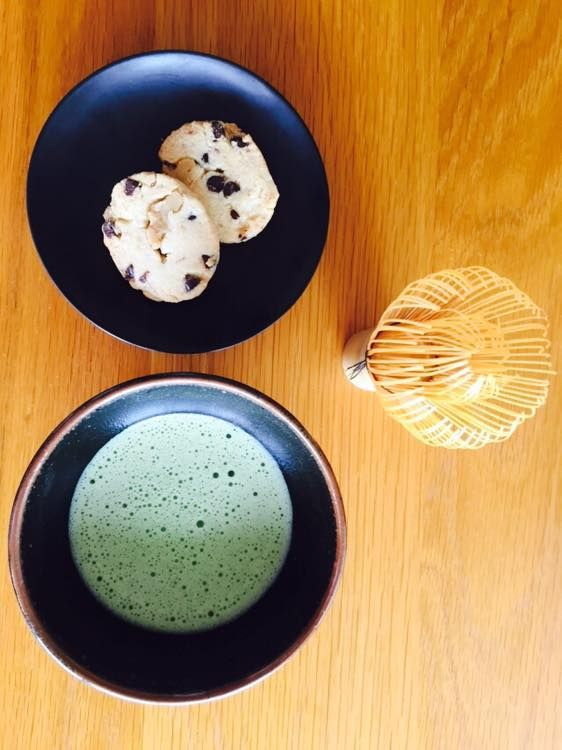 Matcha and Cookie
